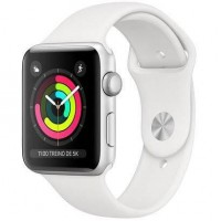 Apple Watch Series 3 42mm Pulseira Esportiva MTF32LLA  Branco