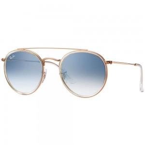 Óculos De Sol Ray Ban Round Double Bridge Rb3647n 001/9u-51