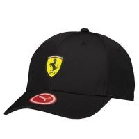 Boné Puma Ferrari Fanwear Base ball Preto