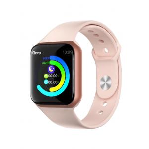 Relógio Inteligente Smartwatch F8 Ios Android - Rosa